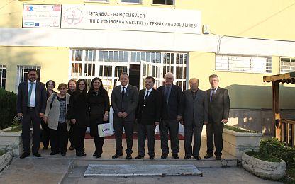 ÇSD & İstanbul İl Milli Eğitim ile Yenibosna MTAL Çorap Bölümü Ziyareti