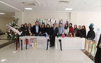 Kavram MYO Çorap ve Tasarım Bölümü öğrencilerinin  sergi ziyareti
