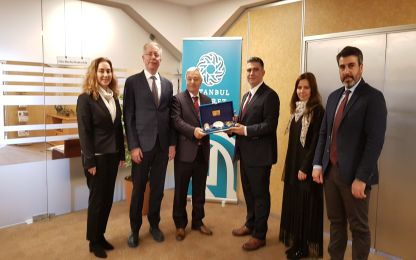 İstanbul Ticaret Odası Meclis ve Yönetim Kurulu Başkanlarına ziyaret