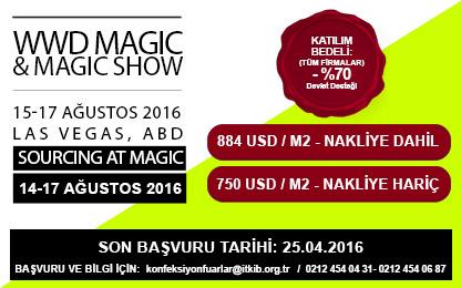 WWD MAGIC&MAGIC SHOW 15-17 AĞUSTOS 2016 LAS VEGAS ABD