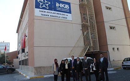 ÇSD & İstanbul İl Milli Eğitim ile  Avcılar  MTAL Çorap Bölümü Ziyareti